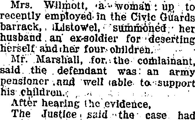 Wilmot 1929